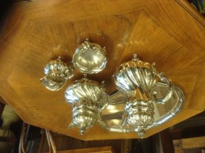 5-teiliges Kernstück 835er Silber
