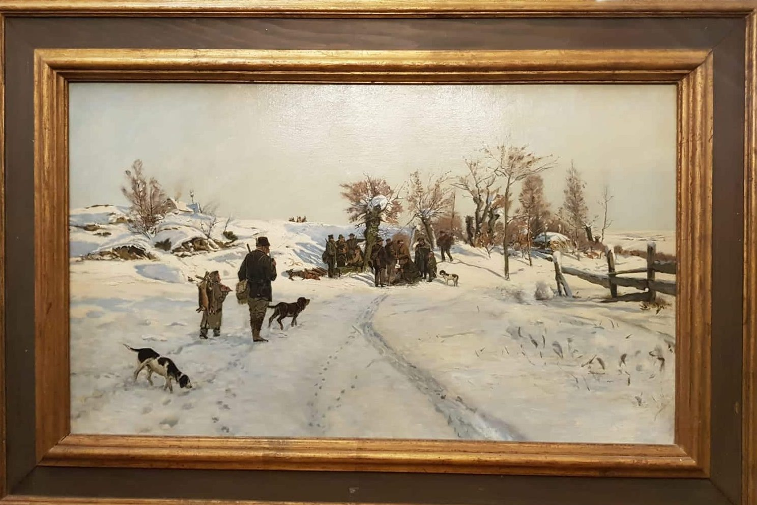Winter-Jagdtag • Antiquitäten