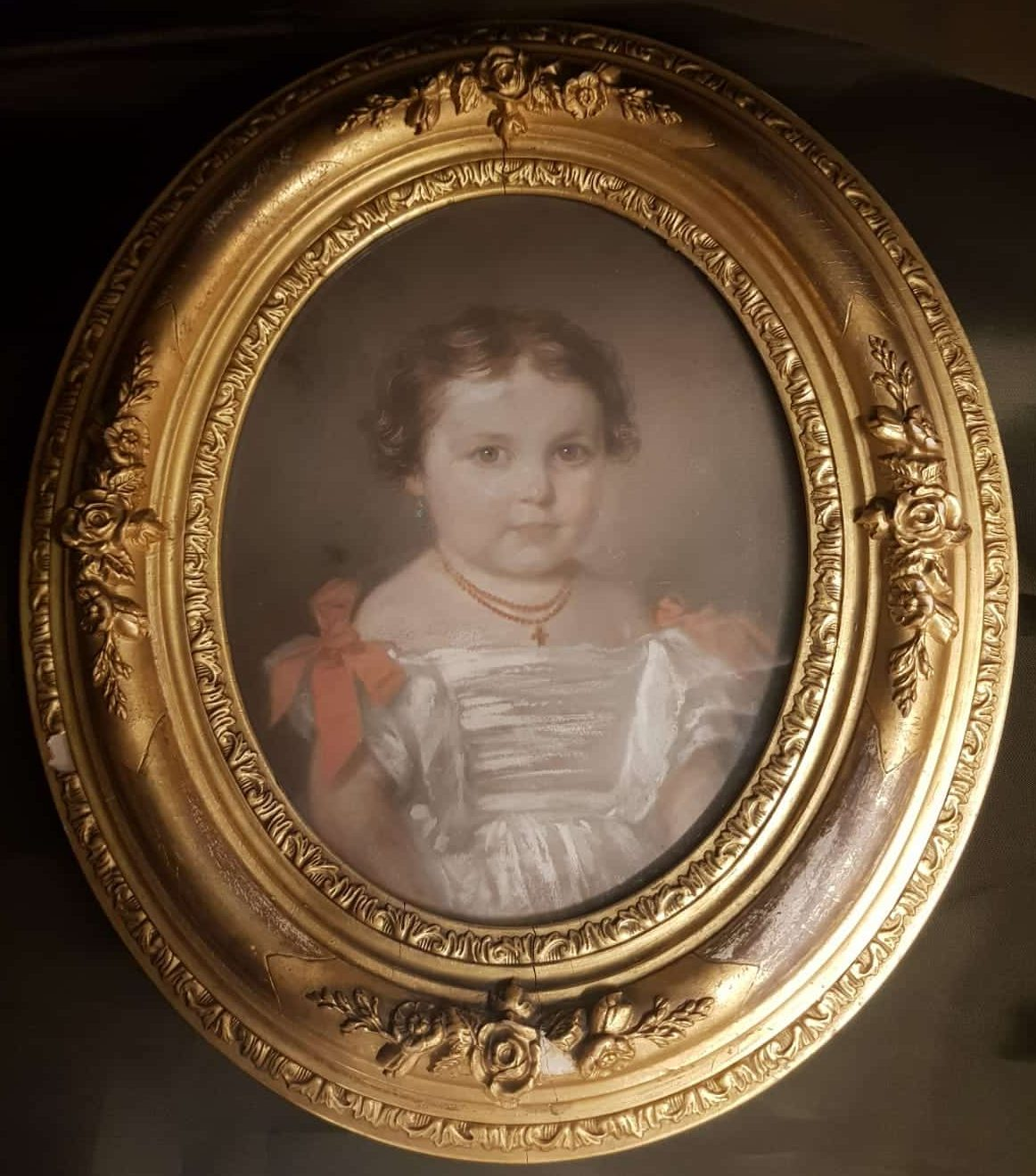 Porträt Mädchen • Antiquitäten