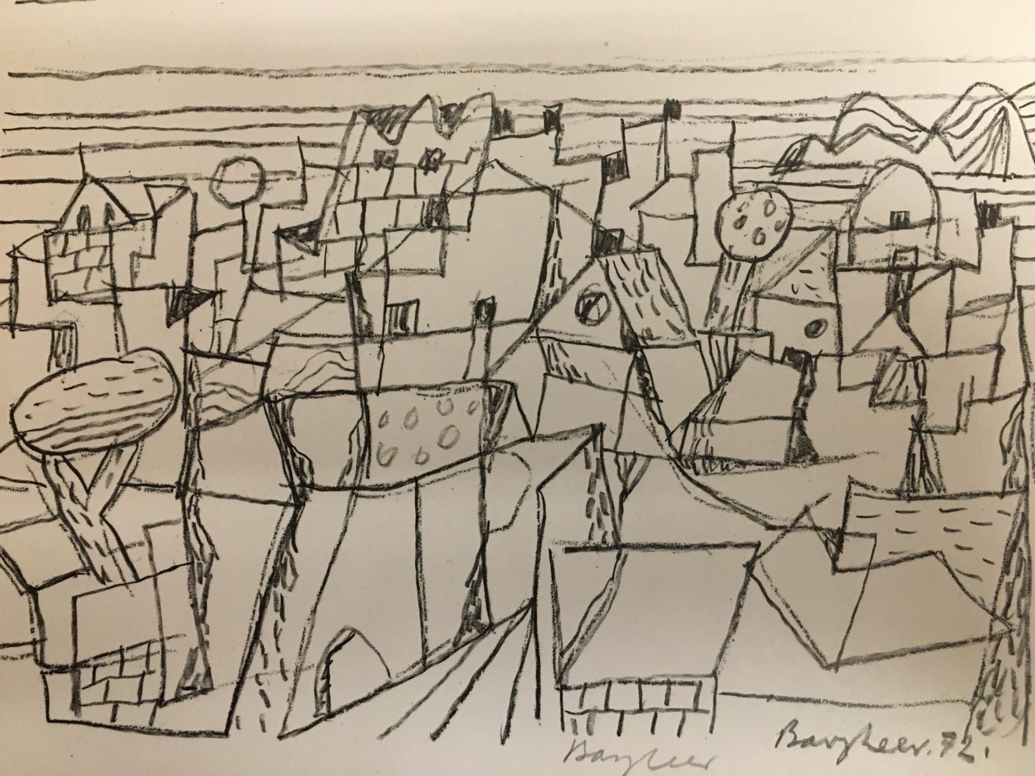 Eduard Bargheer Zwei Zeichnungen • Antiquitäten