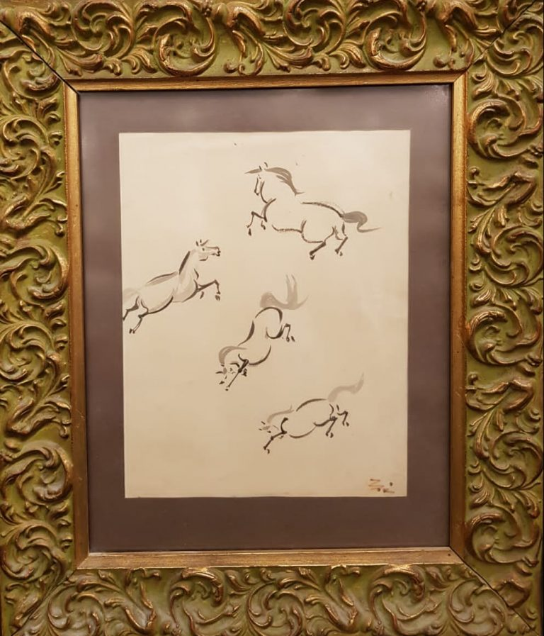 Pferdebildnis • Antiquitäten