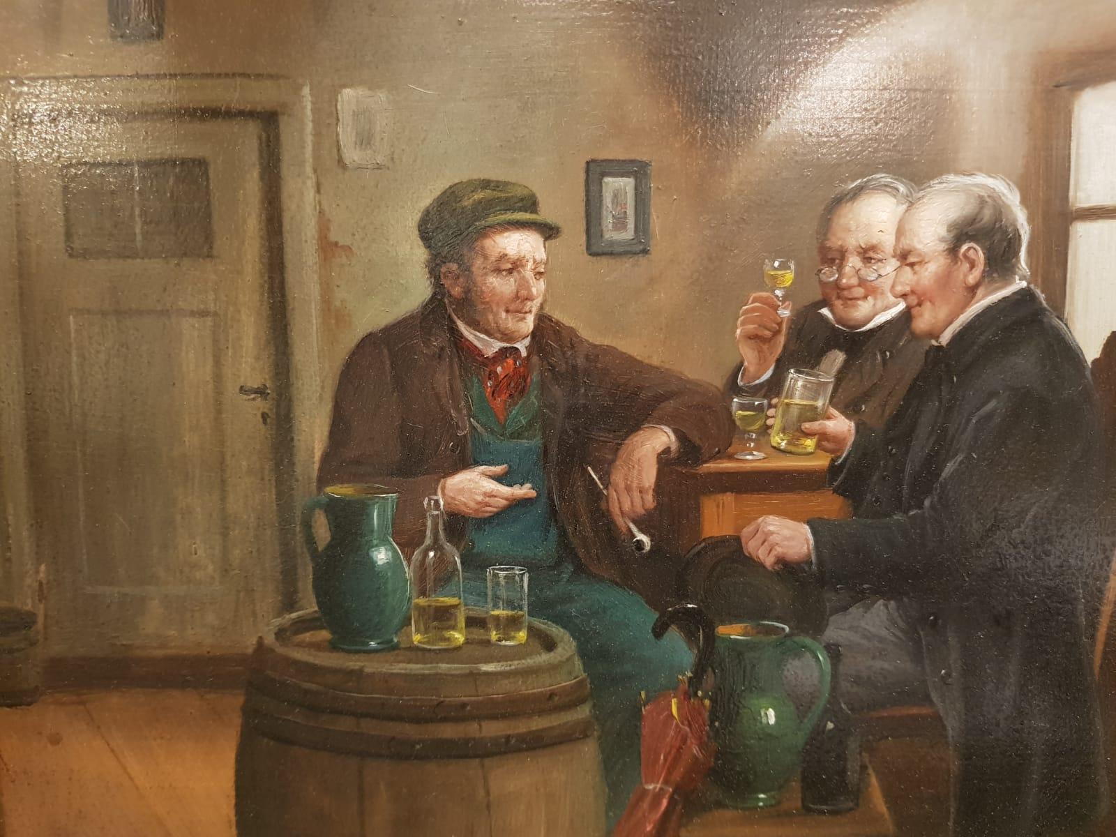 Rudolf Klingsbögl Trinkrunde • Antiquitäten