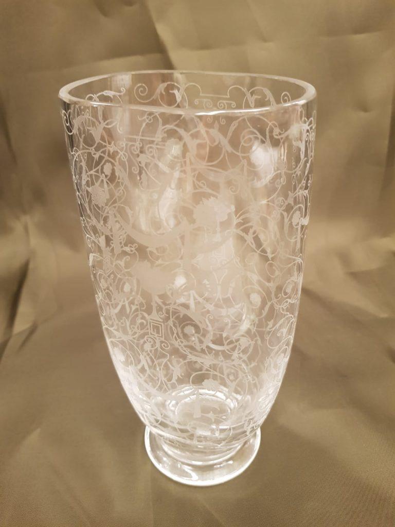 Kristallglas-Vase Baccarat • Antiquitäten