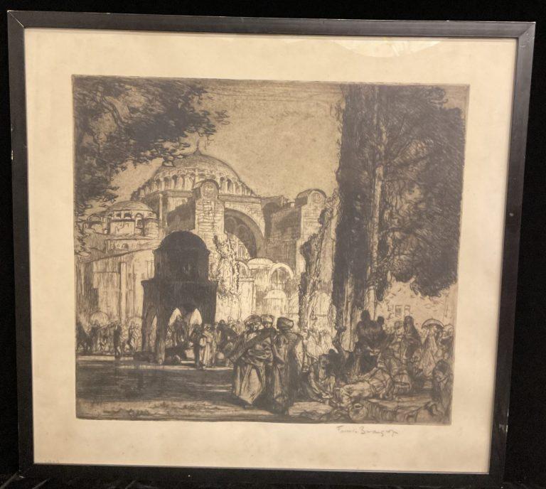 Frank Brangwyn Hagia Sophia • Antiquitäten