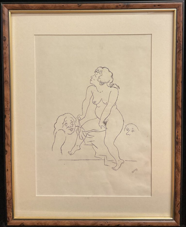 George Grosz • Antiquitäten