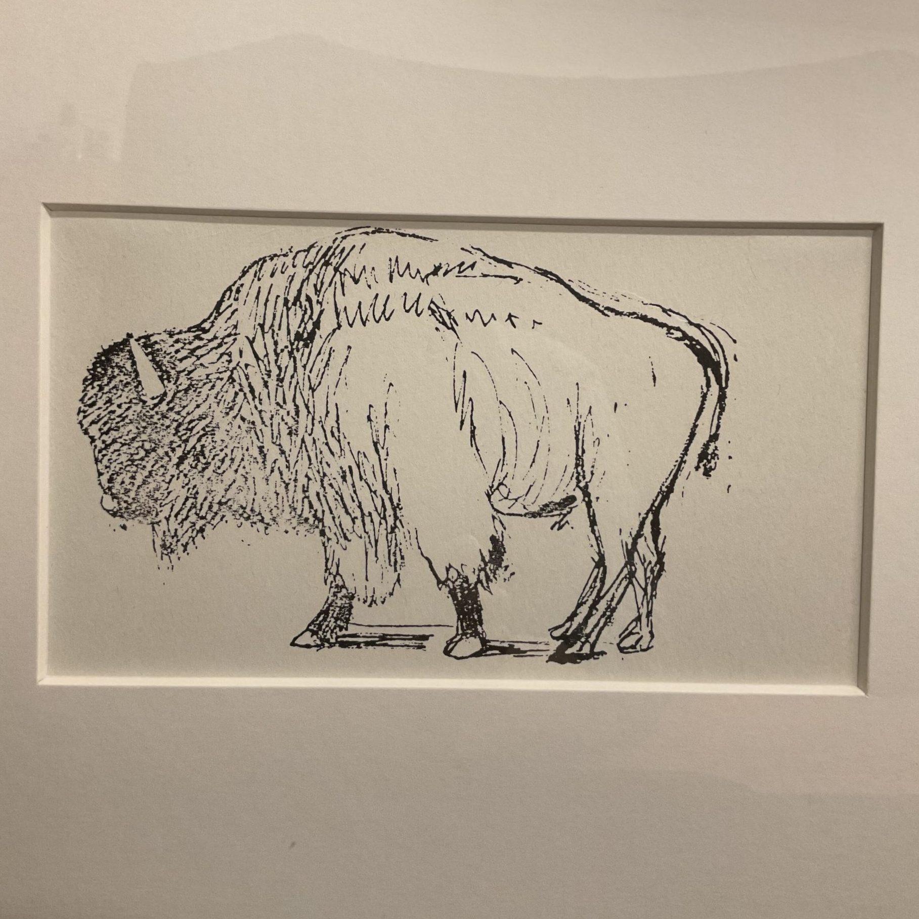 Henry Moore Bison • Antiquitäten