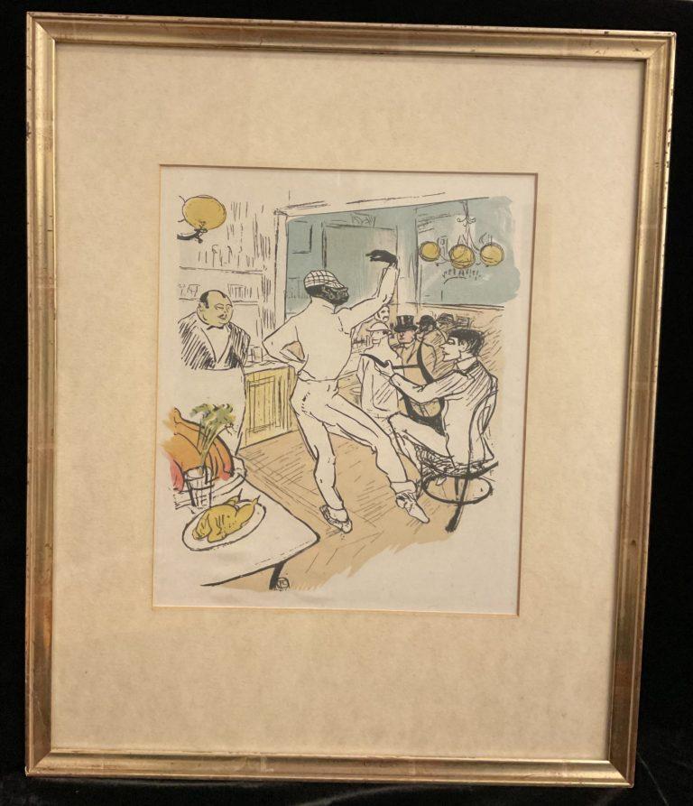 Henri de Toulouse-Lautrec Tänzer in einer Bar • Antiquitäten