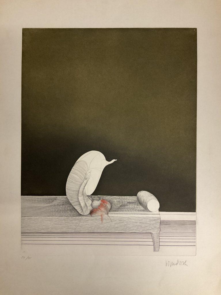 Paul Wunderlich Sofafigur • Antiquitäten