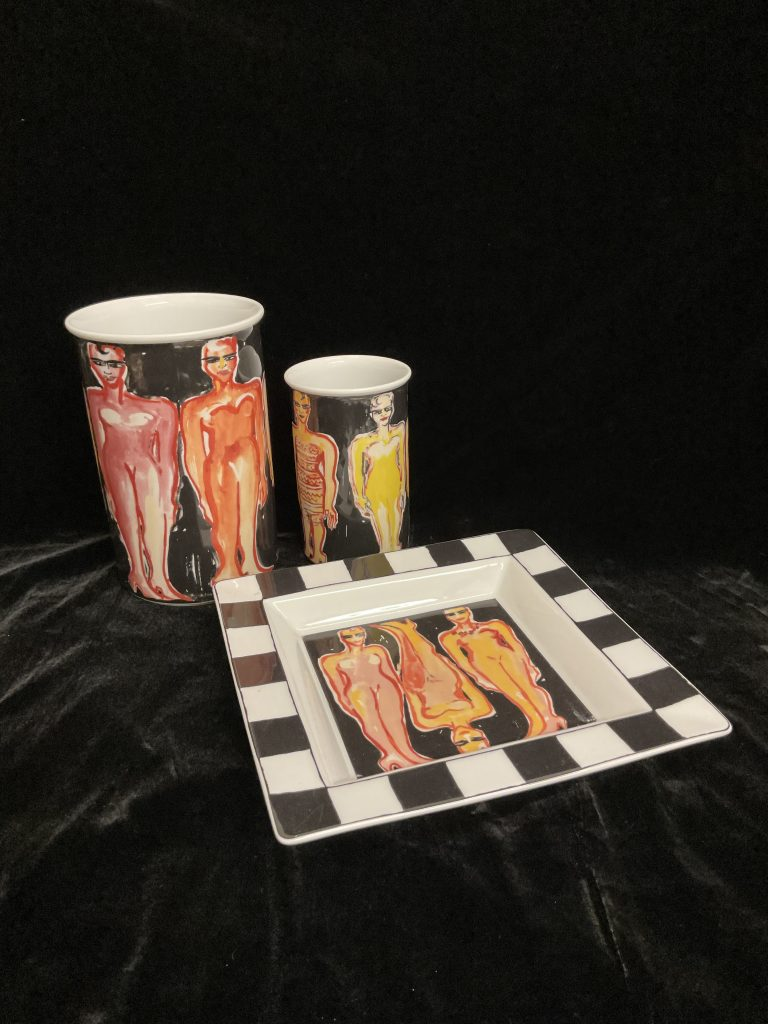 Elvira Bach Art Collection No. 3 Rosenthal • Antiquitäten