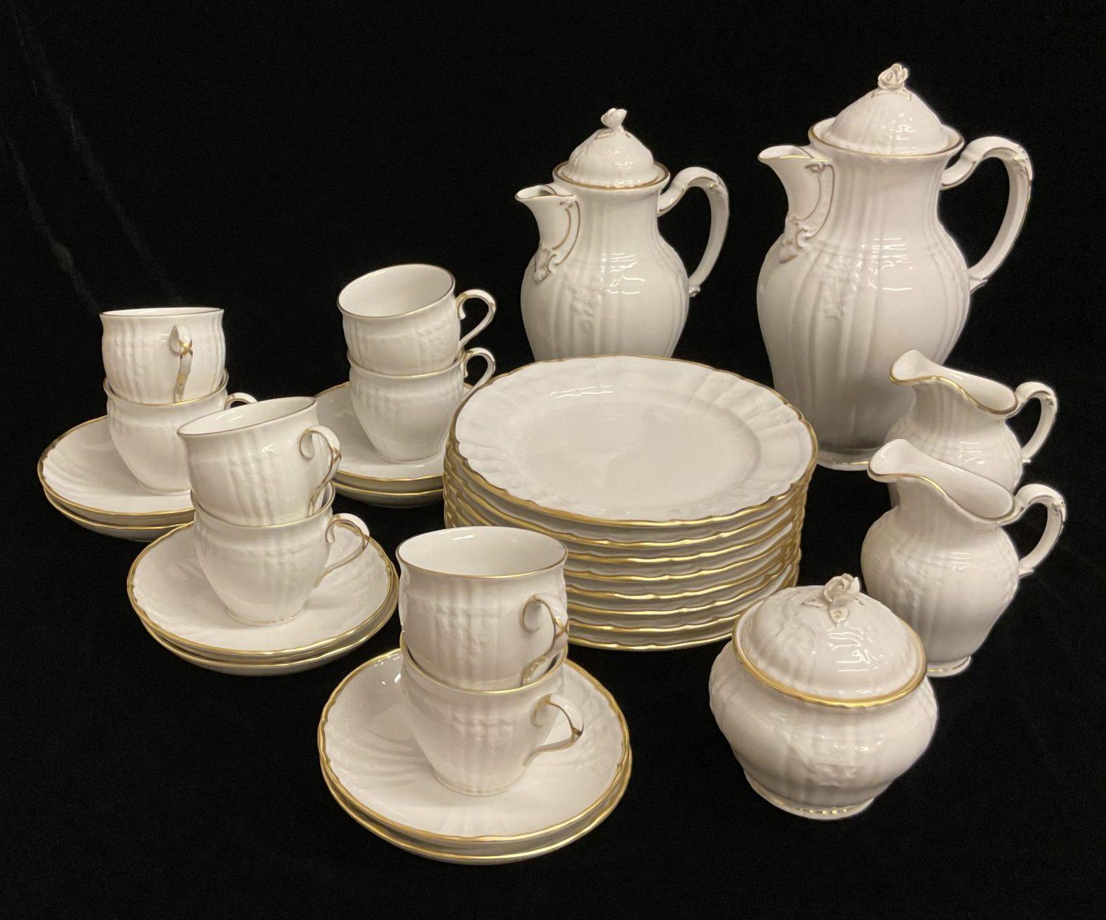 Kaffeeservice mit Goldrand KPM • Antiquitäten