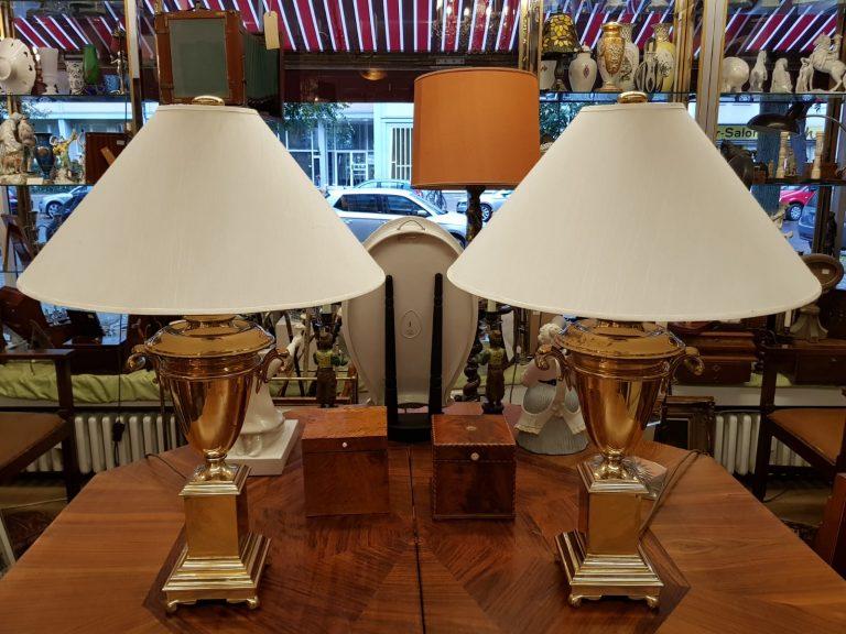 Paar Tischleuchten Chapman • Antiquitäten