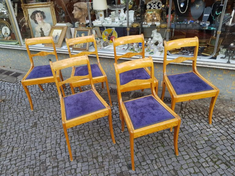 Biedermeier-Stühle • Antiquitäten