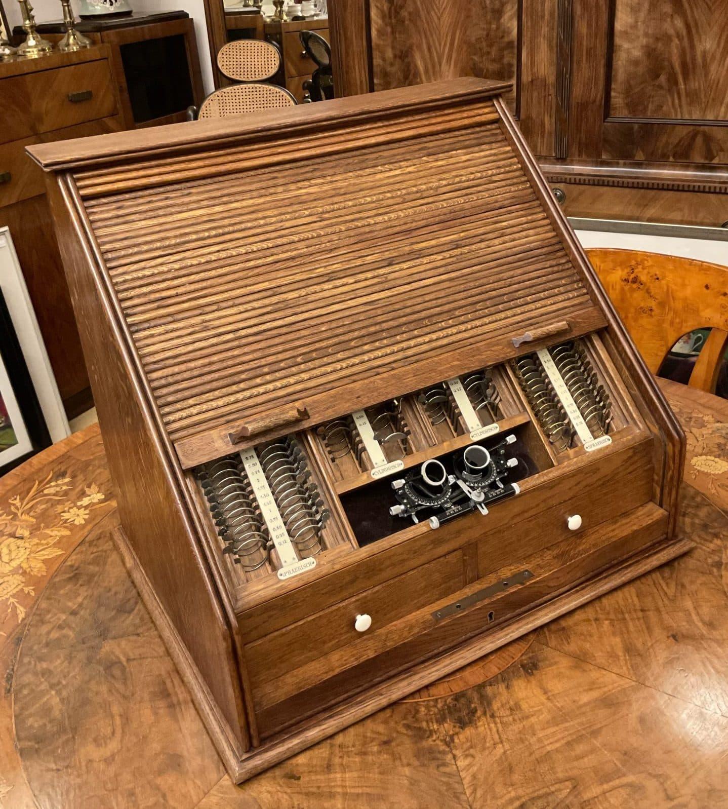 Refraktionskasten • Antiquitäten