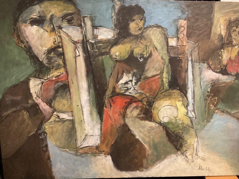 Maler und Modell • Antiquitäten