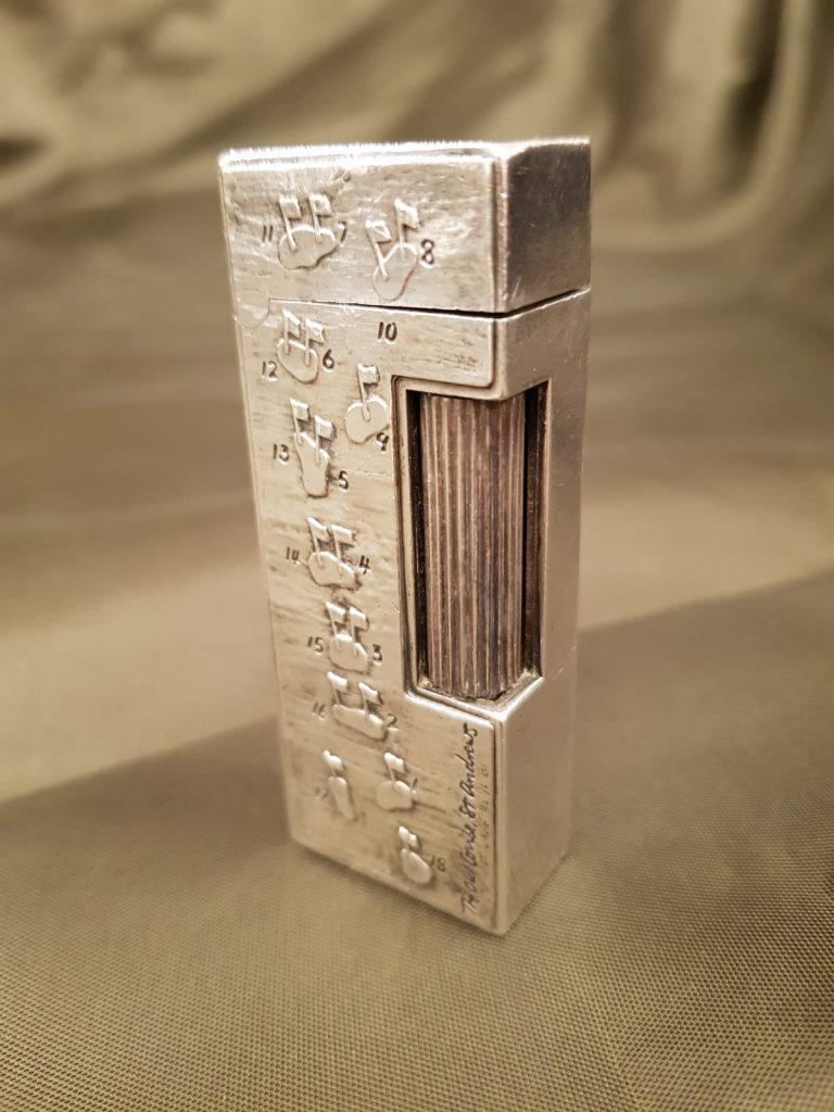 Gasfeuerzeug Dunhill Rollagas mit Schatulle • Antiquitäten