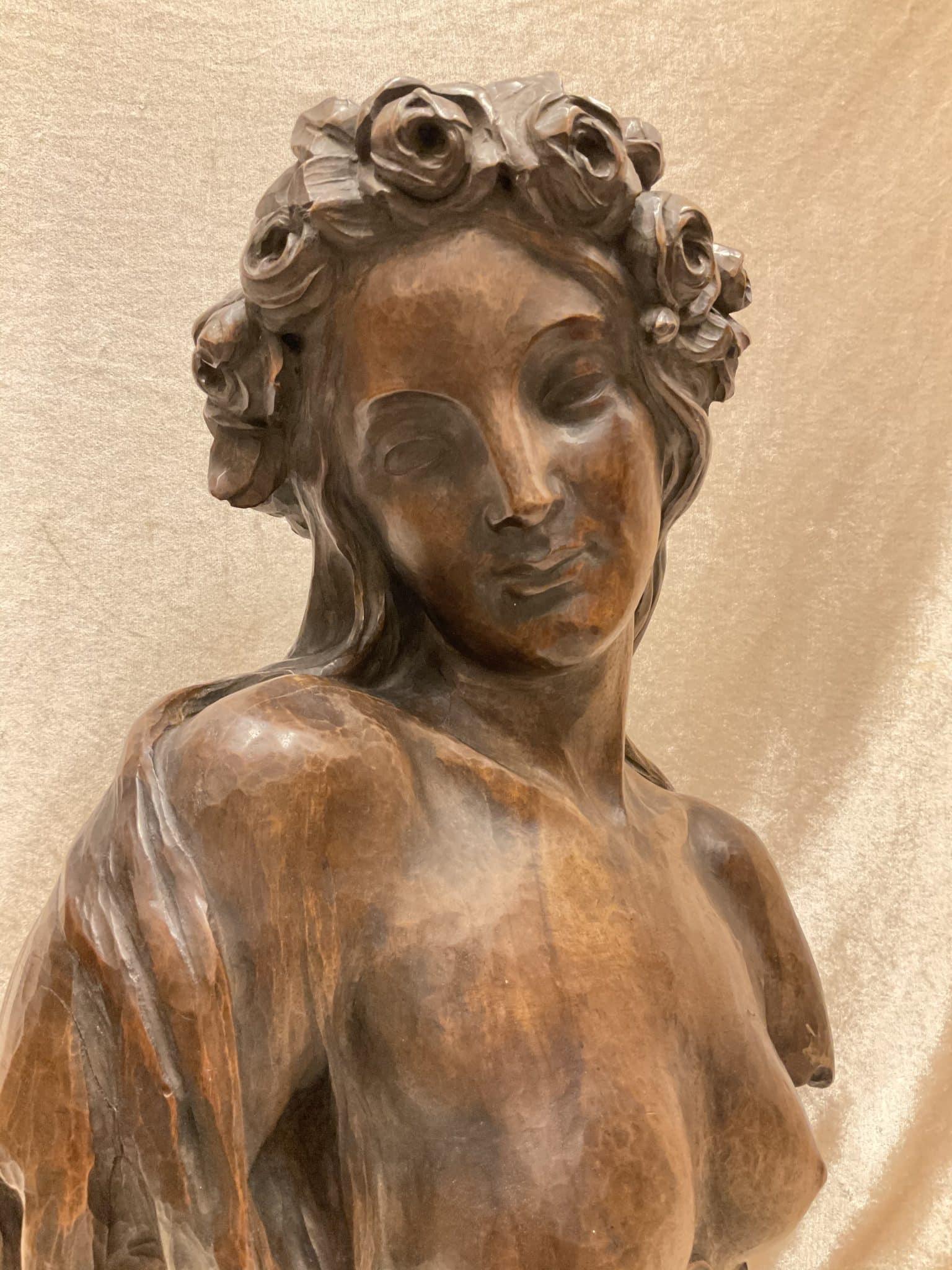 Jugendstil Frauenbüste • Antiquitäten