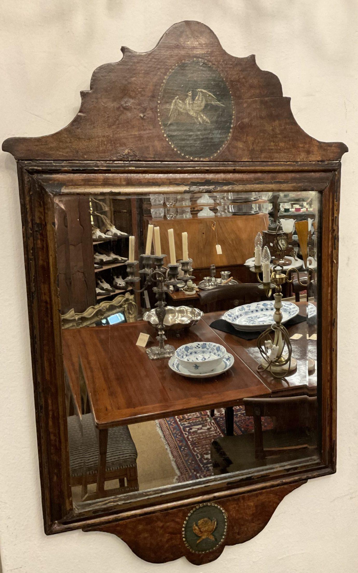 Englischer Landhausstil-Spiegel • Antiquitäten