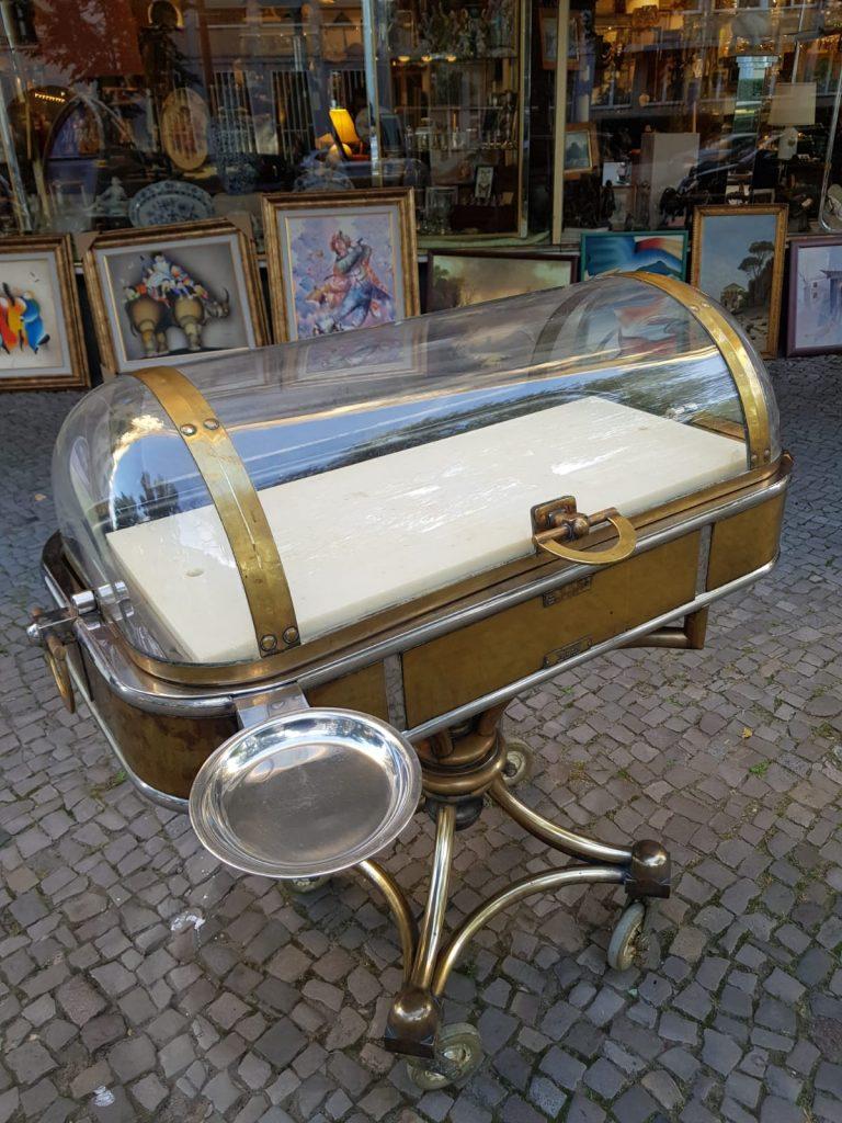 Hotellerie Servierwagen • Antiquitäten