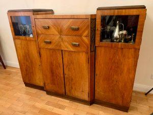 Art Deco Buffet, Barschrank, Anrichte