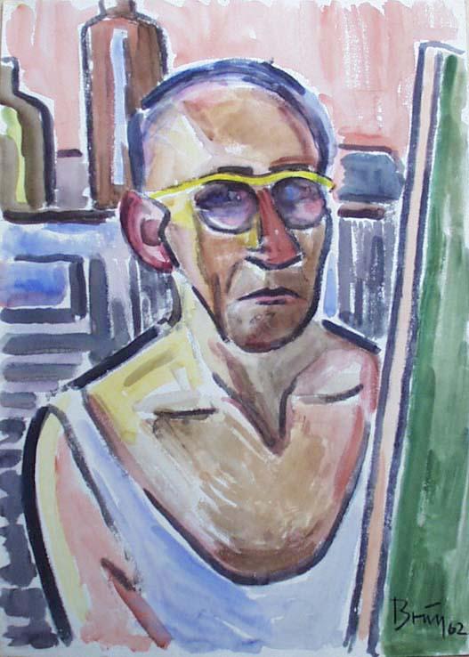 Benedikt Brunn-Stiller Selbstporträt
