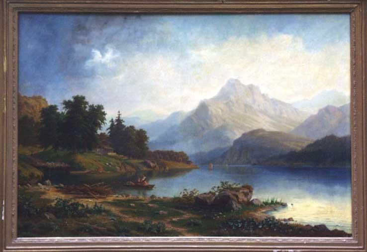 Carl Ludwig Schmitz Gebirgslandschaft